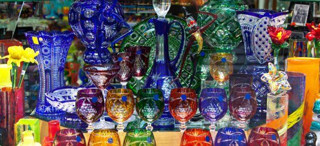 ボヘミアンガラス
