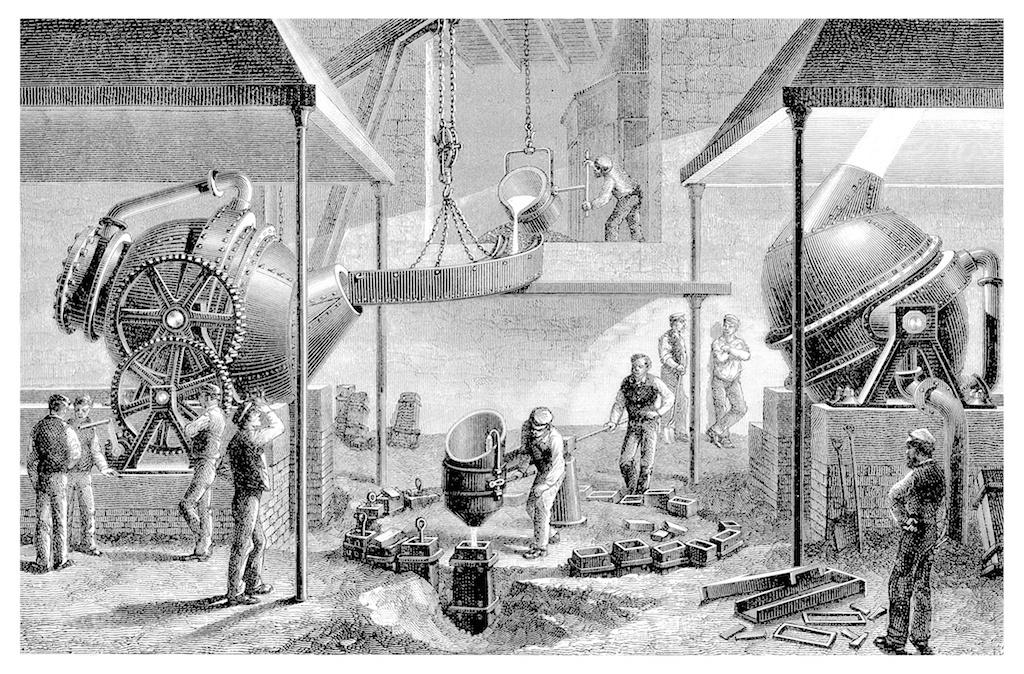窓ガラス発展の歴史